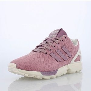 Adidas pink Torsion ZX Flux sneakers